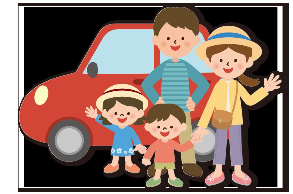 картинки семья едет на машине отель хургаде